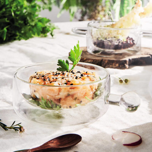 THERMIC GLASS - FOOD & DESIGN